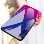Оригинал BakeeyGradientцветЗакаленноестекло+ Soft ТПУ Задняя крышка Защитная Чехол для Xiaomi Mi 9/Mi 9 Прозрачный выпуск
