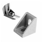 Оригинал 2020 Алюминиевый профиль Угловой кронштейн Коннектор для V-Slot 3D-принтера Линейные направляющие