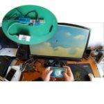 Оригинал Беспроводное управление Flight Simulator Конвертер Поддержка адаптер SBUS PPM Приемник для Смартфон PS2