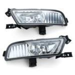 Оригинал Pair Авто Противотуманные фары L & R Grill Лампа Выключатель лампы накаливания Набор Для Honda CR-V CRV 15-16