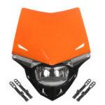 Оригинал Фара для мотоциклов в сборе с лампой Двойной спортивный мотокросс для Honda/Kawasaki / Suzuki / Yamaha KTM EXC EXCF XCF XCW SX SXF SMR