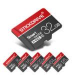 Оригинал StickDrive8ГБ16GB32GB64GB 128 ГБ Высокоскоростная карта памяти TF класса 10 с адаптером карты для мобильного телефона iPhone Samsung Huawei Xiaomi