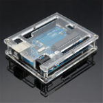 Оригинал Geekcreit® UNO R3 ATmega16U2 AVR USB-плата разработки с корпусом для Arduino