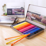 Оригинал Deli 72 Colours Oily Color Pencil Set Soft Core Crayons Живопись Рисунок Эскиз Цветные карандаши Лакокрасочные материалы