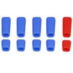 Оригинал 10 ШТ. LDARC Резиновые противоскользящие Палка Крышка переключателя Bule Red для Frsky X9D Plus Flysky Передатчик JR Радио