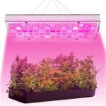 Оригинал 25W 75 LED Растение Grow Light Лампа Полный спектр для цветов Семена Теплица в помещении