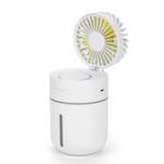 Оригинал T9 Портативный Творческий Спрей-Увлажнитель Вентилятор Светодиодный Вентилятор 3 в 1 Ручной USB Мини-Вентиляторы Летний Кондиционер Кулер Ве