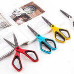 Оригинал FIZZ JD8240 Ножницы Канцелярские принадлежности Creative Ручная работа Большие ножницы с покрытием Фтор Антипригарное покрытие Неадгезивные ножн