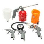 Оригинал Набор из 5 штук пневматической краски для распыления Инструмент Spray Spray G un Set
