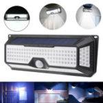 Оригинал Solar Power 180 LED Беспроводная PIR Motion Датчик Light На открытом воздухе Настенный двор Сад Путь Лампа