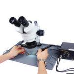 Оригинал S-190 48 см х 32 см Микроскоп Базовая платформа Мат Высокая теплоизоляция Обслуживание Пайка Ремонт телефона BGA Pad