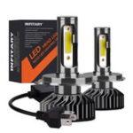 Оригинал Infitary F2 Авто COB LED Фары Лампы противотуманные Лампа H1 H3 H4 H7 H11 9005 9006 12V-24V 72W 8000LM 6500K Белый