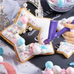 Оригинал 3/6 мм Инструмент Украшение торта Драже Жемчужный шарик Аппликатор для выпечки Цветочный декор Украшения