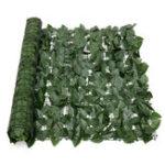 Оригинал Расширение 1 * 3M Искусственный Lvy Лист Wall Fence Green Сад Экран Хедж-украшения