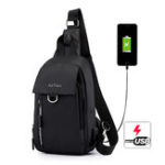 Оригинал Men Nylon Waterproof Casual Chest Bags Shoulder Bag