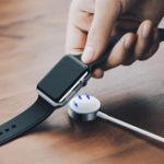 Оригинал USAMSБеспроводнаязаряднаядок-станцияSmartWatch Charger для Apple Watch Series 1 / Series 2 / Series 3 / Series 4