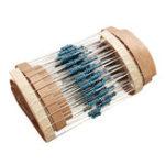 Оригинал 200шт 1 / 4W 220 Ом Резистор +/- 1% ROHS1 / 4 Вт 220R Ом Металлические Пленочные Резисторы 0.25 Вт Ватт Цвет Кольцо Сопротивление Углеродная Пленка
