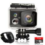 Оригинал SJ9100 Pro 4K WiFi 2.5D Retina Touch Screen Водонепроницаемы FPV Спорт камера Дистанционное Управление