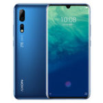 Оригинал ZTEAXON10Pro6.47дюймов FHD + Waterdrop Дисплей NFC Android P AI Тройные задние камеры 8GB 256GB Snapdragon855 4G Смартфон