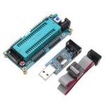 Оригинал AVR ATMEGA16 Минимальная системная плата ATmega32 + USB ISP Программатор USBasp с кабелем загрузки для ATMEL