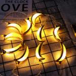Оригинал 10 ШТ. Золотая Луна Форма Ид Рамадан LED Строка Света Лампа Исламская Крытый Главная Партия Декор