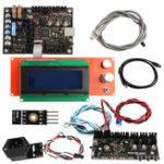 Оригинал EinsyRambo 1.1A Mainboard + Провод Набор + 2004 LCD Дисплей + Power Panic + Нить накала Датчик + Плата управления MMU2 + PINDA V2 Датчик Для 3D-принтера Prusa i3 MK3