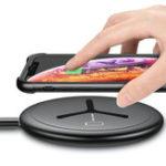 Оригинал FLOVEME 10 Вт 2 В 1 Быстрая зарядка Беспроводное зарядное устройство для iPhone X XR XS Макс iWatch Xiaomi Mi9 S9 Note S10 S10+