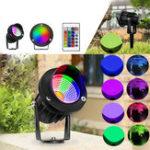 Оригинал 10 Вт RGB LED Прожектор На открытом воздухе Сад Пейзаж Стена Двор Путь Газон Лампа