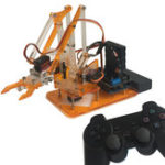 Оригинал meArm DIY 4DOF Arduino Робот-манипулятор Smart RC Набор С 9 г Сервопривод PS2 Палка