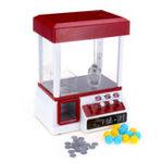 Оригинал Carnival Claw Game Кукла Машинка Мини-аркада Grabber Crane Toys +24 монеты + 12 яиц