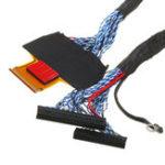 Оригинал 3шт LTF550HQ03 82P 2CH 8-битный LVDS кабель PF050-C82B-C35 FPC кабель для Samsung LCD плата водителя v56 v29 550 мм