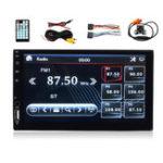 Оригинал 7 дюймов Двойной 2 DIN Авто Автоматический стереоплеер MP5 LCD Экран FM Радио USB TF AUX Audio