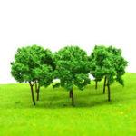 Оригинал 37Шт./ЛотМикро-МодельЗеленые Деревья Смешанный Пейзаж Сад Декорации Sandwork Украшения