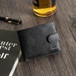 Оригинал Мужчины Досуг Повседневная Trifold 6 слотов для карт Короткий кошелек для монет Ba
