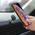 Оригинал МагнитнаяприборнаяпанельFlovemeStrongАвто Поворот телефона на 360º для смартфона iPhone 4,7–5,8 дюйма XS Samsung Galaxy S10e