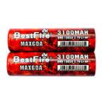 Оригинал BestPireNew18650Батарея3100мАч 60A 3.7 В литий-ионный аккумулятор Батарея