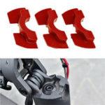 Оригинал Красный 3шт 0,6 / 0,8 / 1,2 мм электрический скутер аксессуары резиновый демпфер для Xiaomi M365