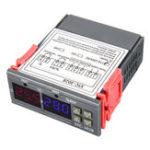 Оригинал 110-220V STC-3018 Цифровой регулятор температуры термостата с настройкой значения функции Дисплей C / F Преобразование