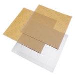 Оригинал MK52 Утюг с горячей кроватью Пластина 253,8 * 241 мм с 2шт клей PEI для 3D-принтер