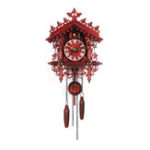 Оригинал Handmade Cuckoo Wall Часы Деревянный Лесной Домик На Дереве Свинг Часы Art Home Decor