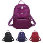 Оригинал ЖенщиныВодонепроницаемырюкзакчерезплечоШкола Сумка сумка рюкзак На открытом воздухе путешествия Сумка