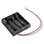 Оригинал 4 слота AAA Батарея Коробка Батарея Держатель платы для 4 х ААА Аккумуляторы DIY комплект Чехол