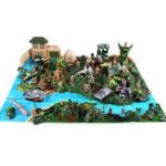 Оригинал 200 шт. / 300 шт. Армия Солдат Военный Модель DIY Сцена Войны Детские Игрушки