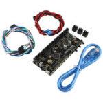 Оригинал MK3 Multi Material 2.0 Модернизированная плата управления MM TMC2130 Чип MMU2 Материнская плата с кабелем питания и сигнальным кабелем для 3D-принтера Prusa i3