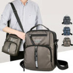 Оригинал Men Oxford Business Shoulder Bags Multi-pocket Chest Bag