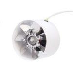 Оригинал 4 дюймов 100-миллиметровый встроенный канальный вентилятор Гидропонный экстрактор Вентиляционное отверстие Выпускной вентилятор