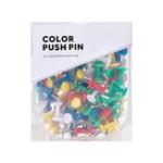 Оригинал Jordan & Judy JJ-YD0026 Цветные канцелярские кнопки Зажимы для бумаг Металлические кнопки для большого пальца Карта Рисованные канцелярские кнопки