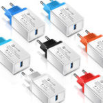 Оригинал Olaf 3A QC3.0 Быстрая зарядка USB зарядное устройство ЕС Plug Адаптер для iPhone X XR XS MAX Xiaomi Pocophone S9 S10
