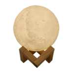 Оригинал 880ML Увлажнитель воздуха 3D Moon Лампа Light Диффузор Aroma Essential Масло USB Ультразвуковой увлажнитель Ночной Триколор Туман Очиститель