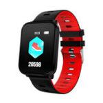 Оригинал BakeeyK10Ультра-тонкийДизайнСъемныйремешок для измерения артериального давления IP68 Спортивный режим Bluetooth Music Smart Watch